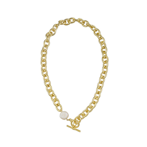 Vivian Necklace - Gold-Necklaces-Womens Accessory-ESTHER & CO.