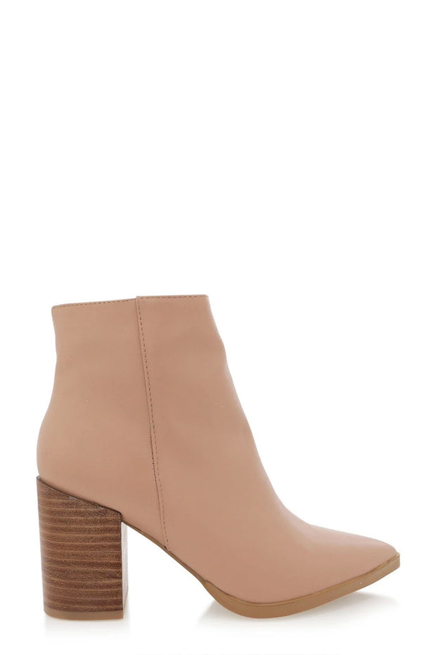 Acler Boots - Light Taupe