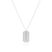 Traditional Dog Tag Necklace