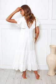 Akela Dress - White