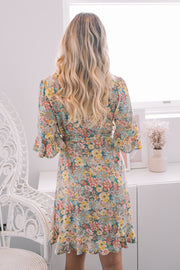 Alana Dress - Floral Print-Dresses-Womens Clothing-ESTHER & CO.