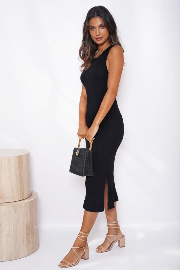Allday Dress - Black-Dresses-Womens Clothing-ESTHER & CO.