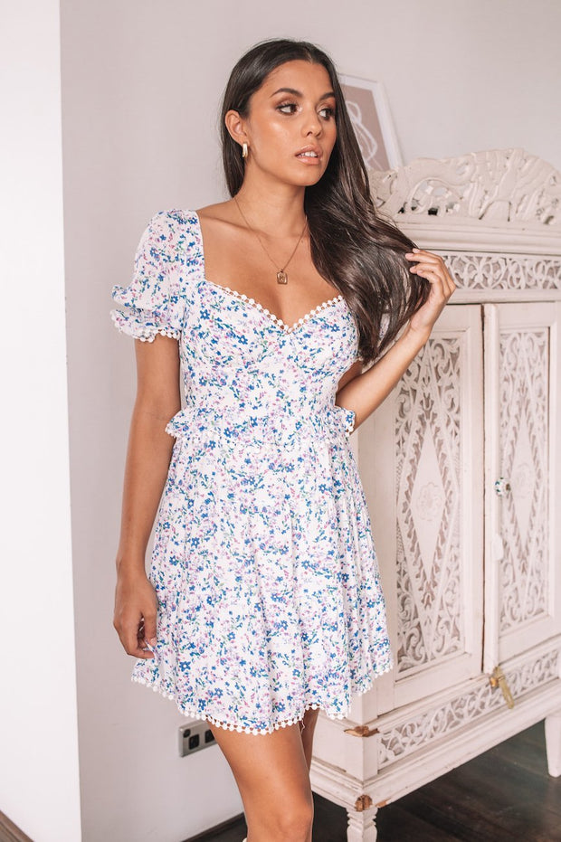 Alyse Dress - Floral Print-Dresses-Womens Clothing-ESTHER & CO.