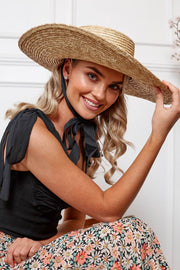 Amara Hat - Natural-Hats-Womens Accessory-ESTHER & CO.