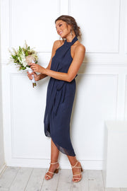 Amaryllis Dress - Navy