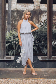 Amaryllis Dress - Silver