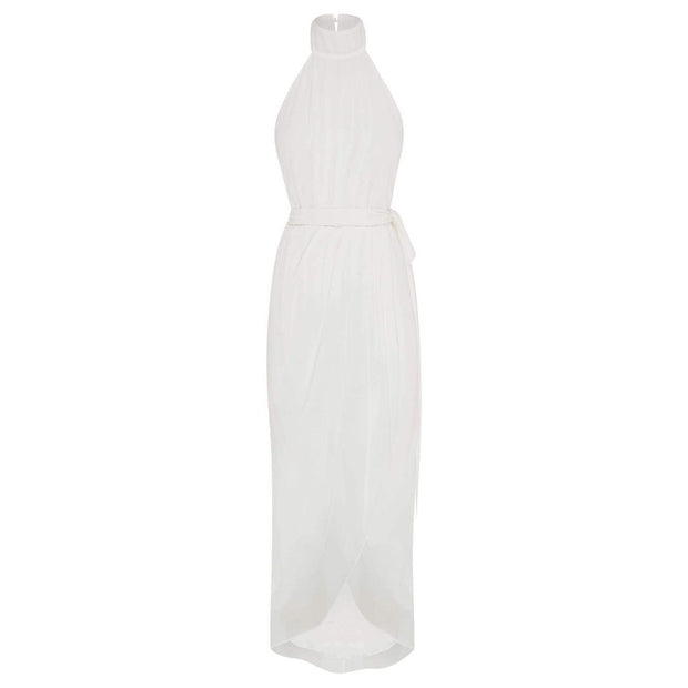 Amaryllis Maxi Dress - Ivory-Dresses-Esther Luxe-ESTHER & CO.