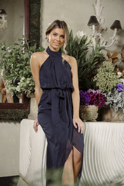 Amaryllis Maxi Dress - Navy