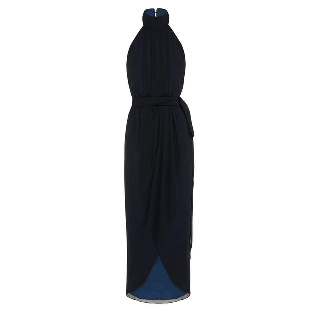 Amaryllis Maxi Dress - Navy-Dresses-Esther Luxe-ESTHER & CO.