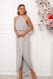 Amaryllis Maxi Dress - Silver