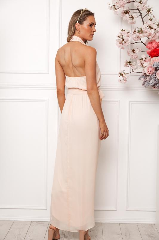 Amaryllis Maxi Dress - Soft Peach