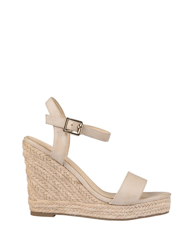 Amaya Wedges - Nude Softee-Heels-Womens Accessory-ESTHER & CO.