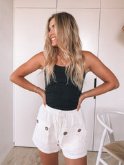 Andy Shorts - White-Shorts-Womens Clothing-ESTHER & CO.