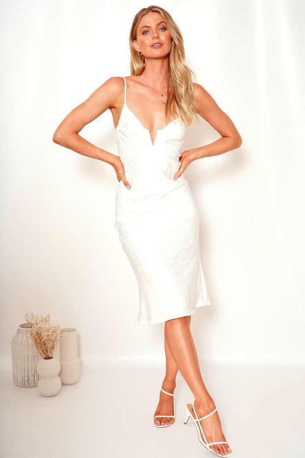 Angelic Dress - White-Dresses-Womens Clothing-ESTHER & CO.
