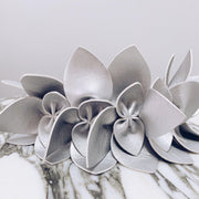 Beehive Fascinator - Silver-Fascinators-Kasmo Design-O/S-ESTHER & CO.