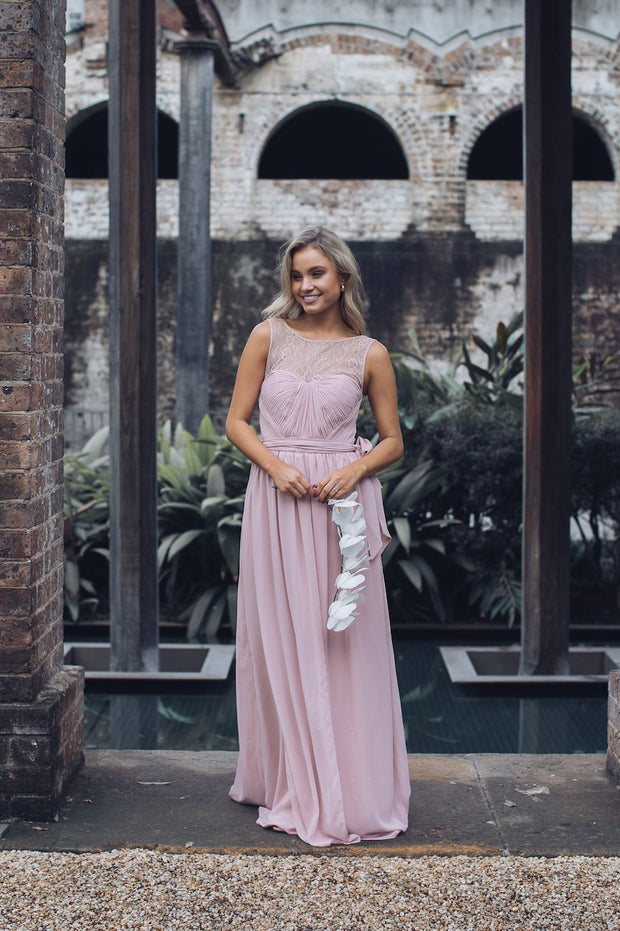 Blossom Maxi Dress - Dark Blush