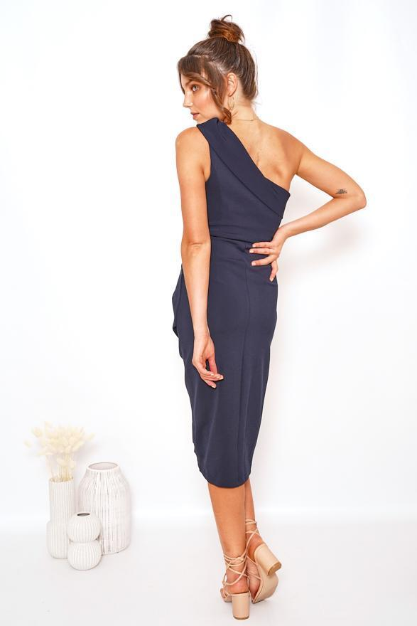 Brumble Dress - Navy