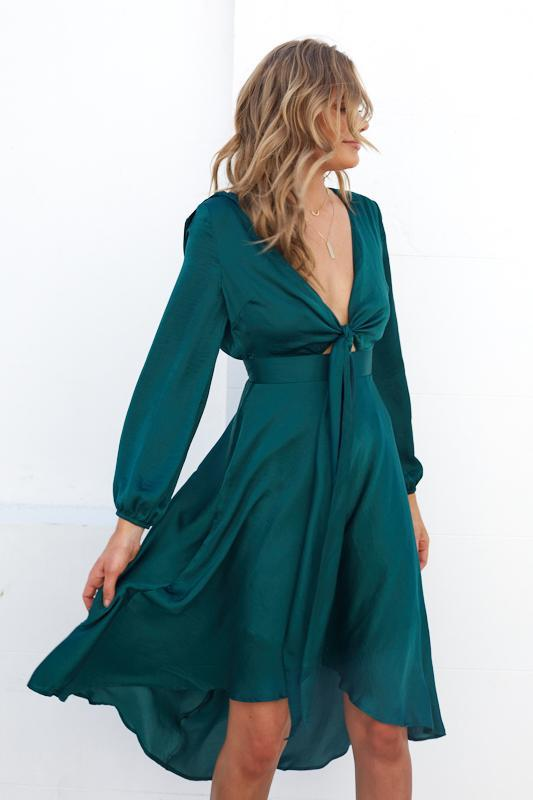 Bryleigh Dress - Green