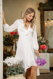 Bryleigh Dress - White