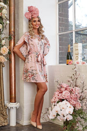 Buku Dress - Pink Print-Dresses-Womens Clothing-ESTHER & CO.