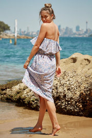 Bula Dress - Blue Print