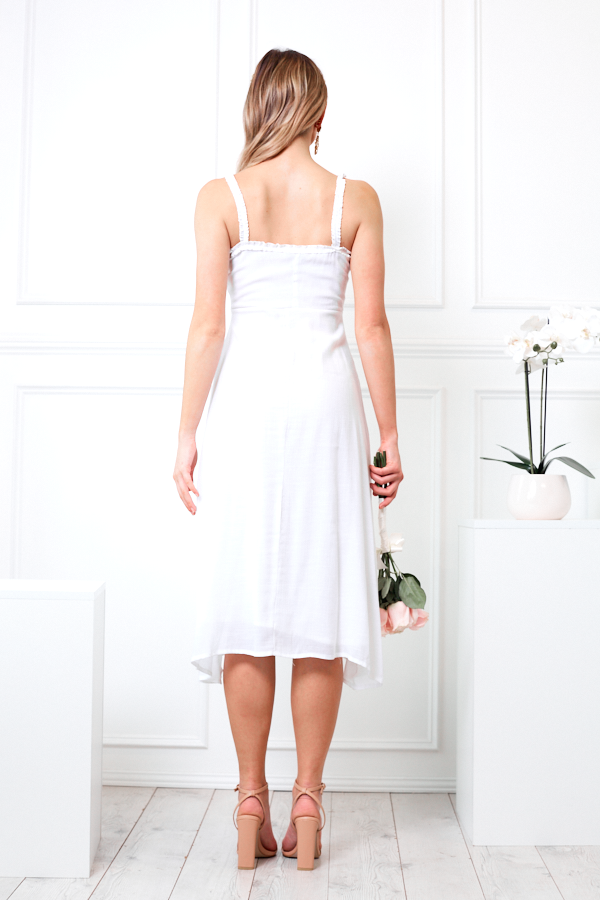 Butlers Dress - White