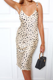 Calypso Dress - Leopard Print-Dresses-Womens Clothing-ESTHER & CO.