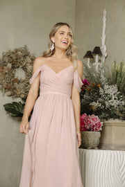 Camellia Dress - Dark Blush