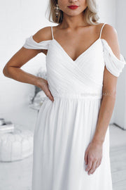 Camellia Dress - Ivory-Dresses-Esther Luxe-ESTHER & CO.