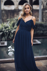 Camellia Dress - Navy