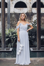 Camellia Dress - Silver