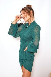 Capitol Dress - Forest Green