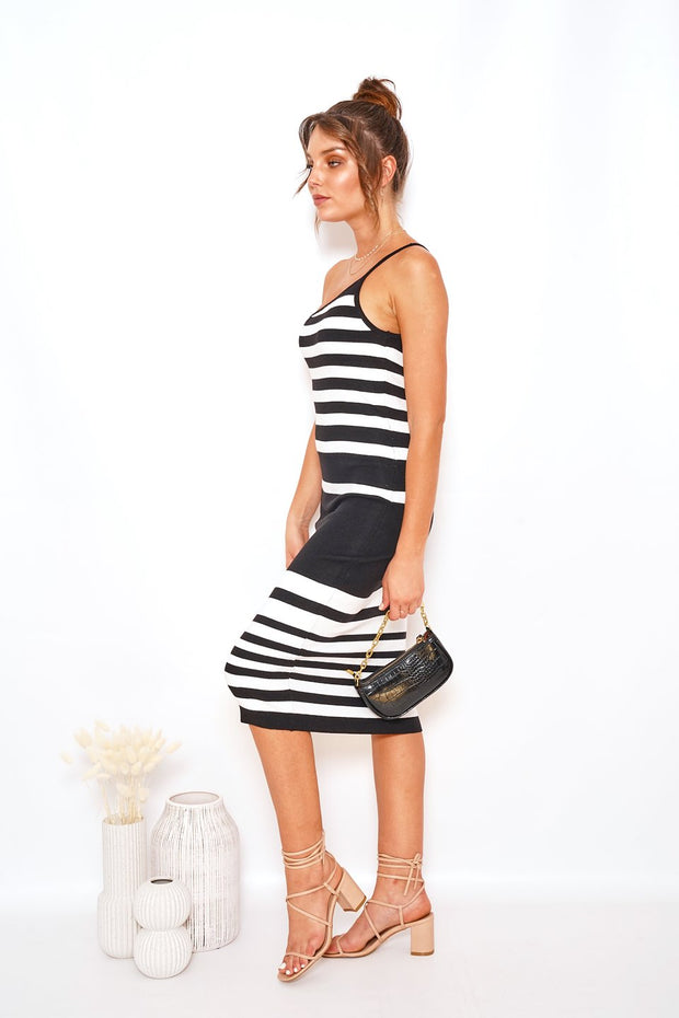 Carleton Dress - Stripe