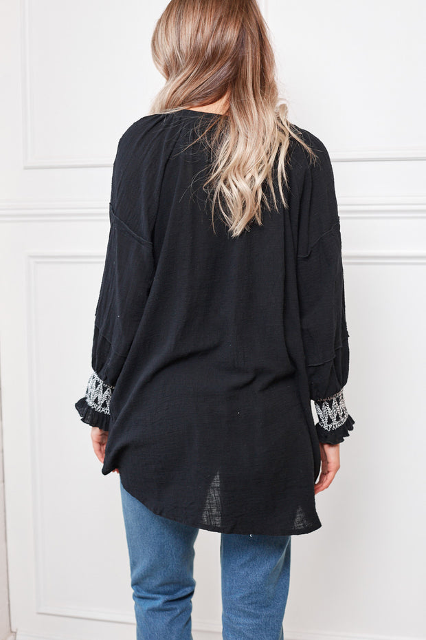 Traffica Top - Black