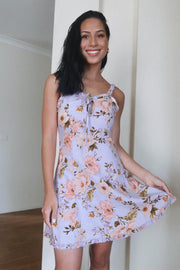 Chateau Dress - Lilac Print