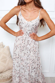 Charlie Dress - Blush Print-Dresses-Womens Clothing-ESTHER & CO.