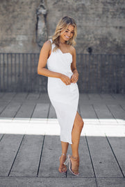 Preorder Conquesta Dress - White-Dresses-Kaarlo Fashion Pty Ltd-ESTHER & CO.