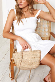 Cove Dress - White