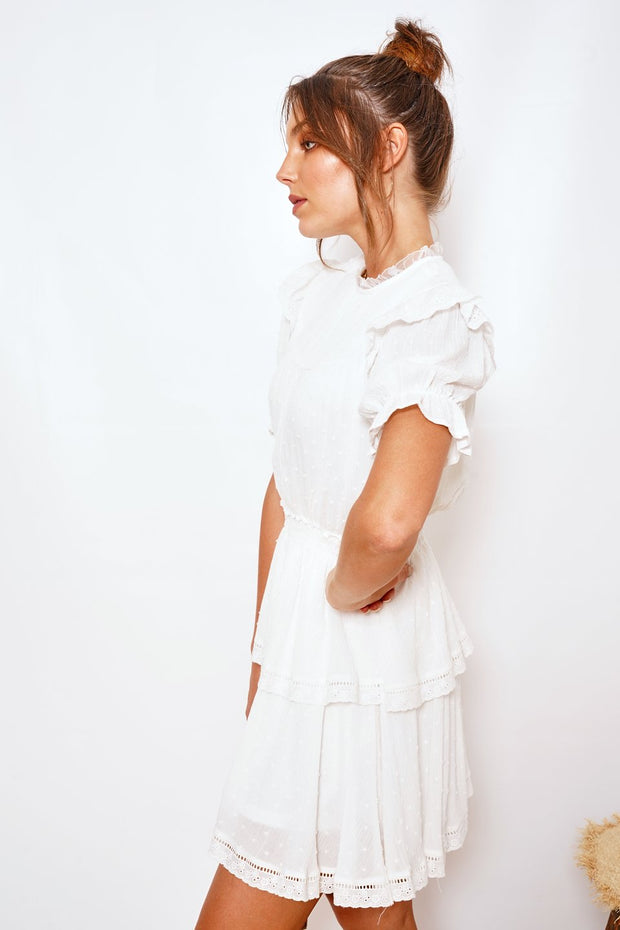 Daffi Dress - White