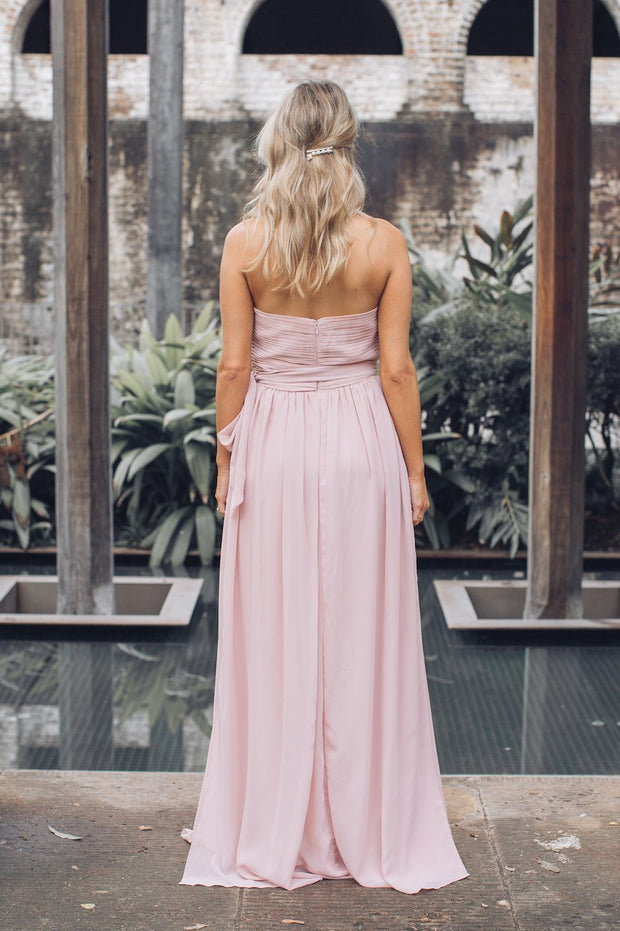 Dahlia Multi Way Maxi dress - Dark Blush