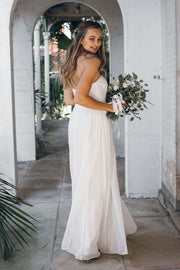 Dahlia multi way maxi dress - ivory-Dresses-Esther Luxe-ESTHER & CO.