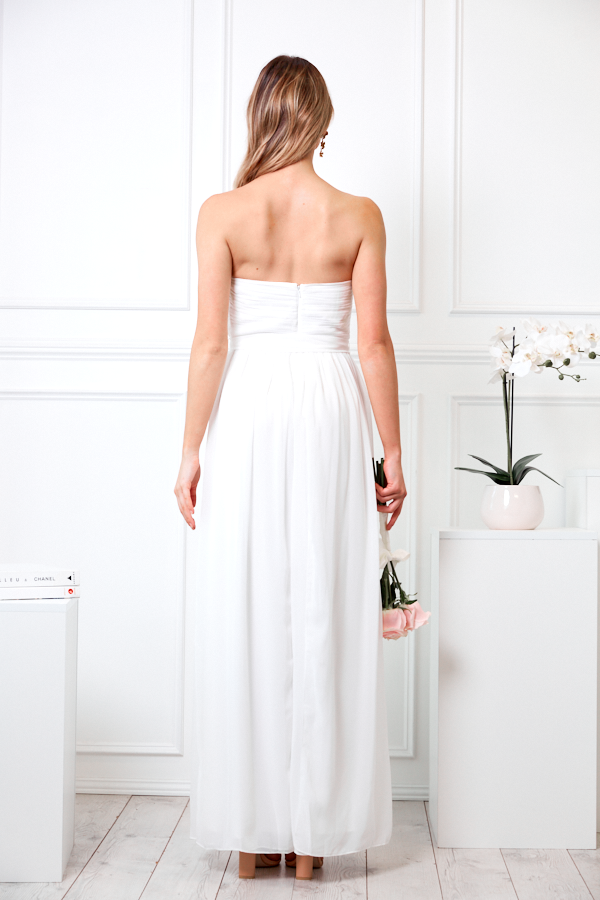 Dahlia multi way maxi dress - ivory