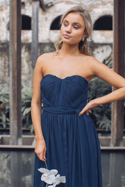 Dahlia Multi Way Maxi Dress - Navy