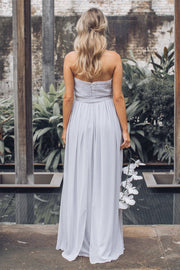 Dahlia Multi Way Maxi Dress - Silver