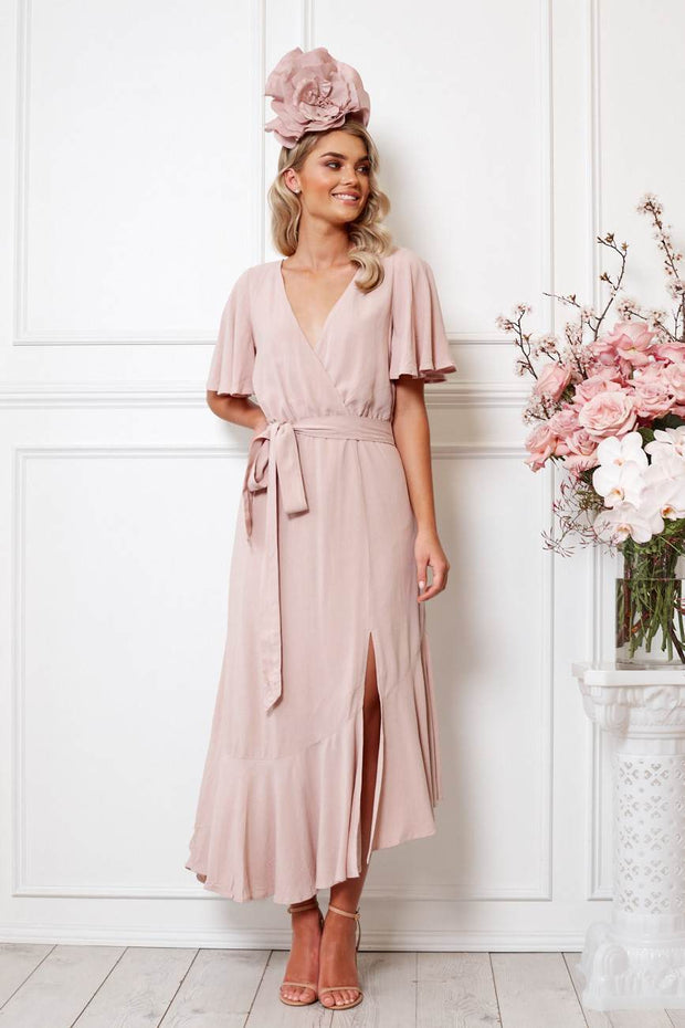 Dame Dress - Mauve-Dresses-Womens Clothing-ESTHER & CO.