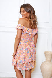 Dasher Dress - Pink Print