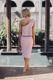Date Night Dress - Blush-Dresses-Style State-ESTHER & CO.