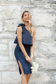 Date Night Dress - Navy