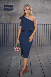 Preorder Date Night Dress - Navy-Dresses-Style State-ESTHER & CO.