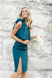 Date Night Dress - Teal